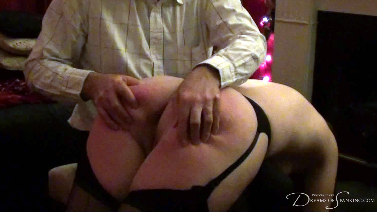 A firm hand spanking for Pandora Blake in this amateur porn film