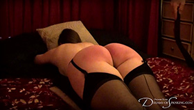 Join the site to view Strapped and Caned and all other spanking scenes
