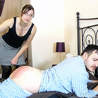 Join the site to view Friday Night Strapping and all other spanking scenes