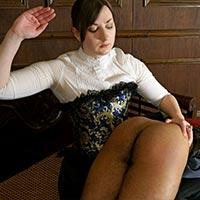Join the site to view David's Strict Governess and all other spanking scenes