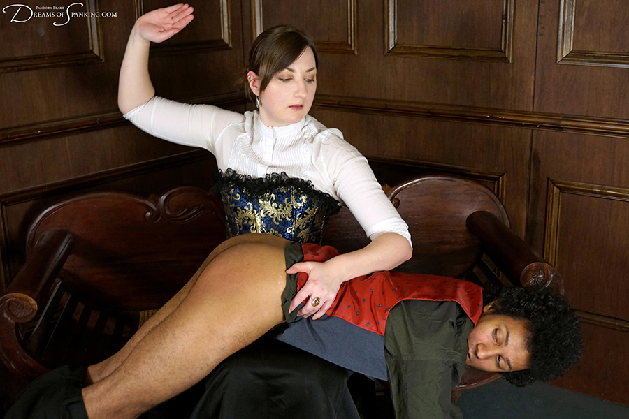 David's Strict Governess at Dreams of Spanking