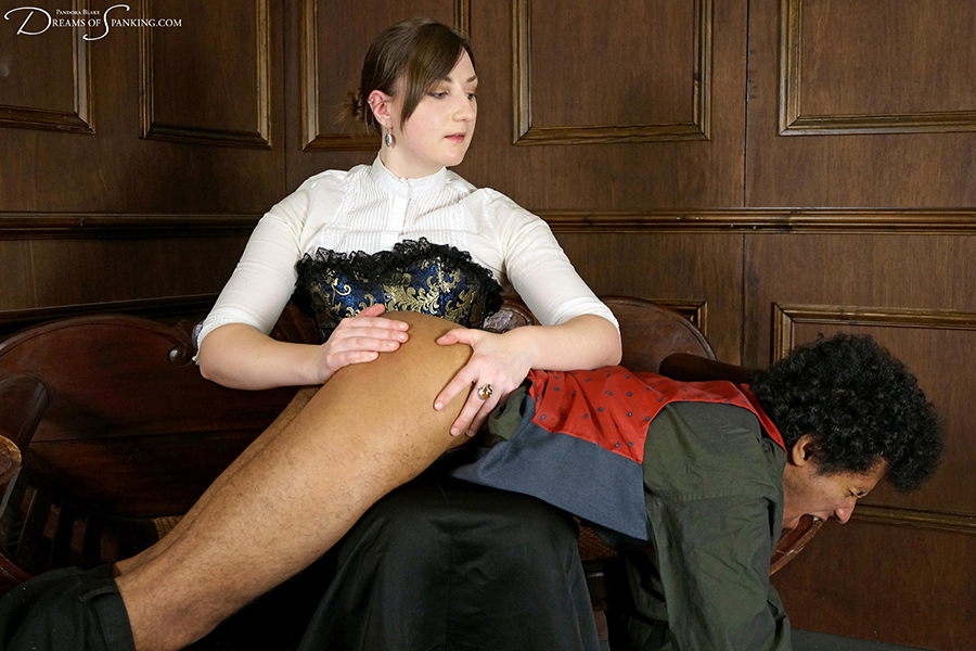 Governess lessons spank