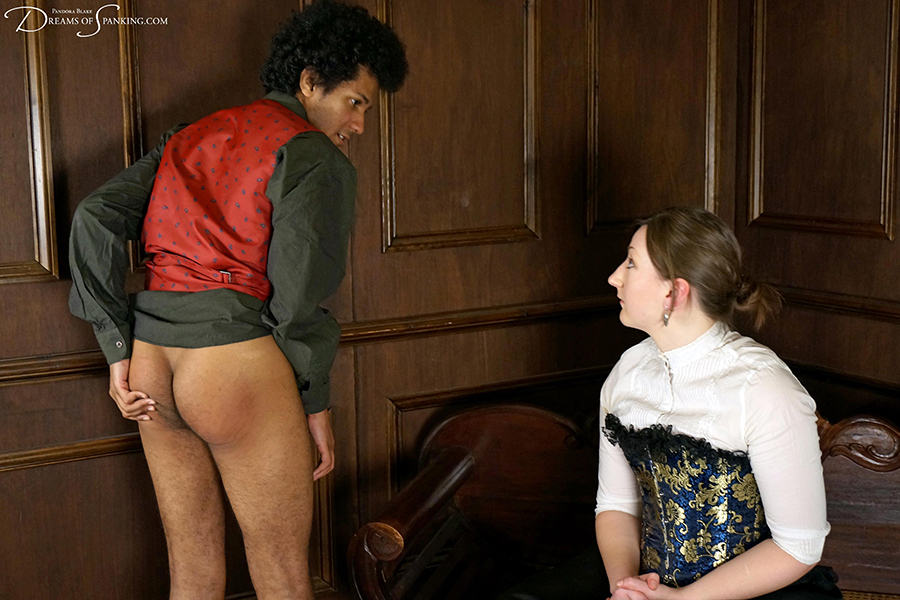 Strict bare bottom spanking from a Victorian governess - Dreams of Spanking