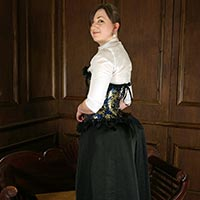 Behind the scenes photo 1 from David's Strict Governess at Dreams of Spanking