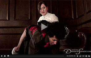 David's Strict Governess