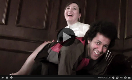 David's Strict Governess - Behind the Scenes with David Weston and Pandora Blake