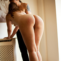 Preview thumbnail : Join the site to view Sunlight and Stilettos and all other spanking scenes