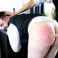 Join the site to view The Tailor's Apprentice (part 1) and all other spanking scenes