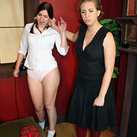 Preview thumbnail : Join the site to view Tammy's Shame and all other spanking scenes