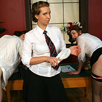 Join the site to view A Taste of their Own Medicine and all other spanking scenes