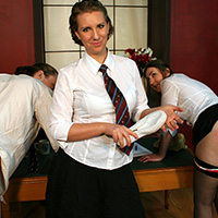 Behind the scenes photo 1 from A Taste of their Own Medicine at Dreams of Spanking