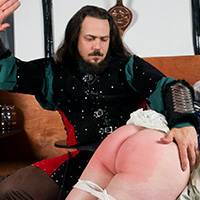 Preview thumbnail : Join the site to view The Captain and the Tavern Wench and all other spanking scenes