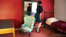 Join the site to view Tight Skirt Tease and Grind and all other spanking scenes