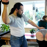 Join the site to view Thrashed and Forgiven and all other spanking scenes