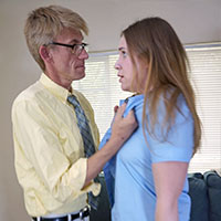 Join the site to view Playing Truant and all other spanking scenes