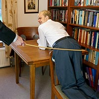 Join the site to view Uniform Violation and all other spanking scenes