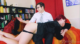 Join the site to view Velvet Touch and all other spanking scenes