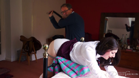 Join the site to view Waiting at Home with the Belt and all other spanking scenes