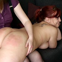 Preview thumbnail : Join the site to view Lady in Waiting and all other spanking scenes