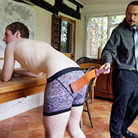 Join the site to view The Water Fight and all other spanking scenes