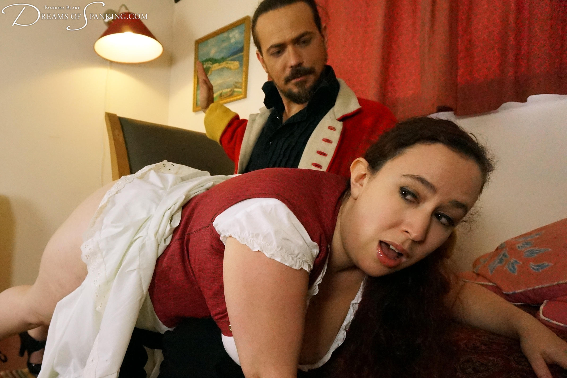 A new wench presents herself to Major Havelock and he puts her through her paces.
