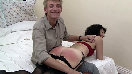 Behind the scenes with Erica Scott at Dreams of Spanking