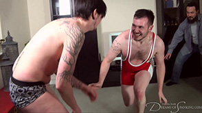 Click to view more previews of Male Spankee Wrestle-Off