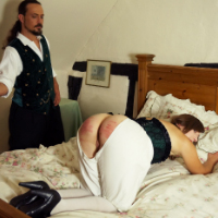 Join the site to view The Wrong Room and all other spanking scenes